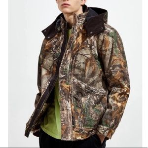 G.H. Bass & Co Hunting Camo Jacket Large NWT